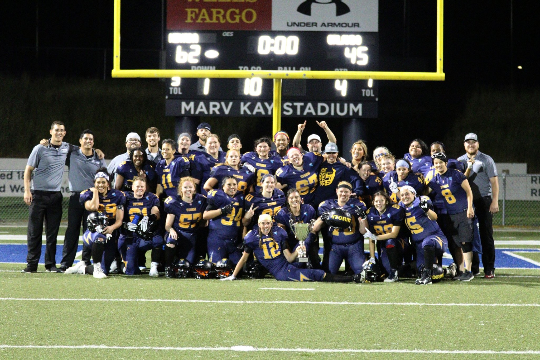 2019 WFA D3 National Champs – Women's Tackle Football